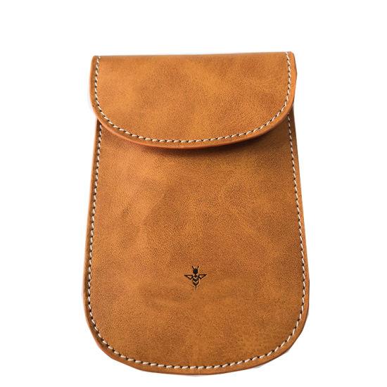 Cheapest Price Signal Blocker Case Leather Bag Phone Case