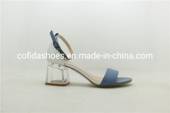 aad109f1893f7 China Comfort Chunky Heel Summer Sandals Women Shoes - China Lady ...
