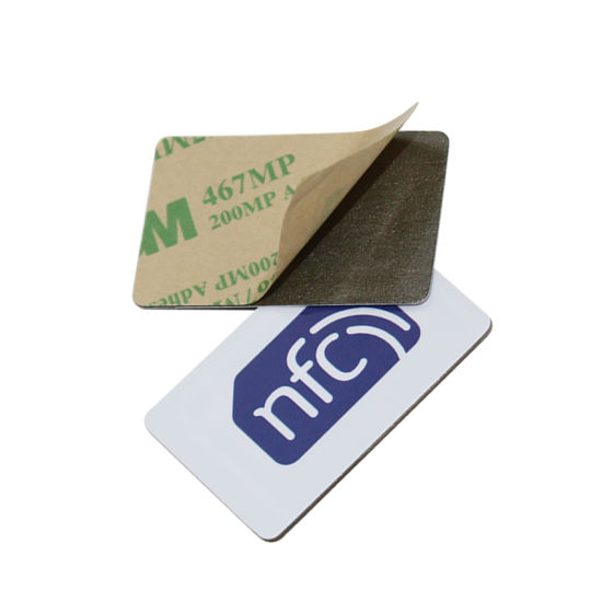 Wholesale Hf RFID Anti Metal Self Adhesive Sticker NFC Label Tags pictures & photos