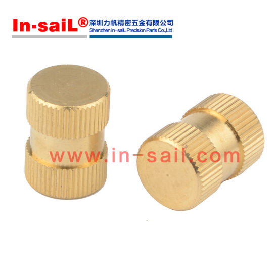 China M6 Blind Insert Nuts, Plastic Insert Nut Brass, Threaded