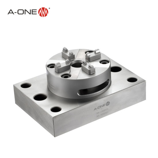 China Supplier a-One Stainless Steel Manual Quick Chuck 100p with Plate pictures & photos