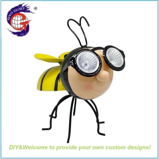 Home Decoration Cute Animal Bee Solar Lights