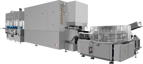 Vial Liquid Washing-Drying-Filling-Stoppering-Labeling Production Line
