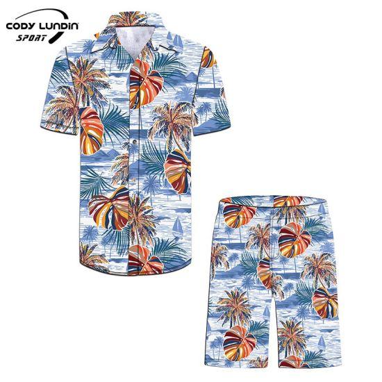 Cody Lundin Custom Short Sleeve Men Beach Casual Printed Hawaiian Shirt Mens Print Patterned Shirt Button up Shirts for