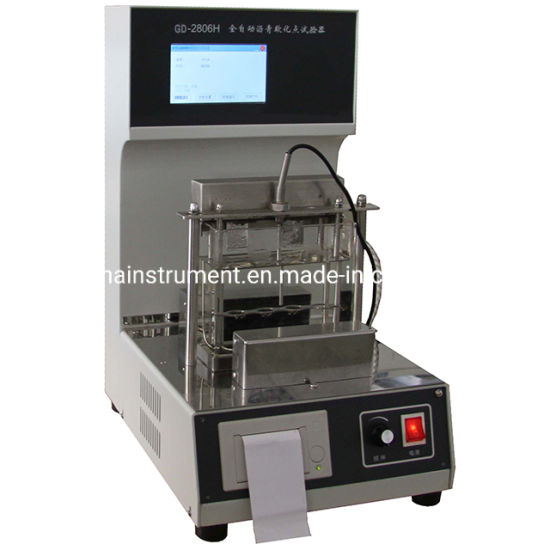 Automated Softening Point Tester for Bituminous Materials Using Water or Glycerol as Bath Liquid pictures & photos
