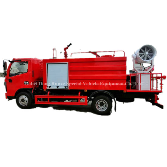 Customizing Water Fire Truck Multifunction with Fine Water Cannon Fog Spray Machine 3000L ~4000L Tank Fire Fighting Truck