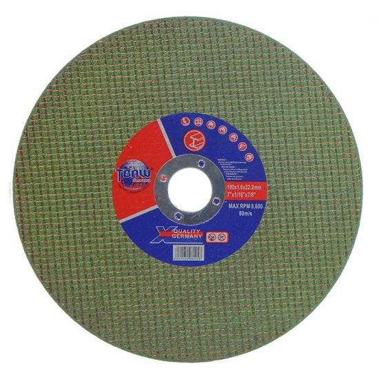 China Factory 7' 180 mm High Speed Cutting Disc, Cutting Wheel, Cut off Wheel, Grinding Wheel