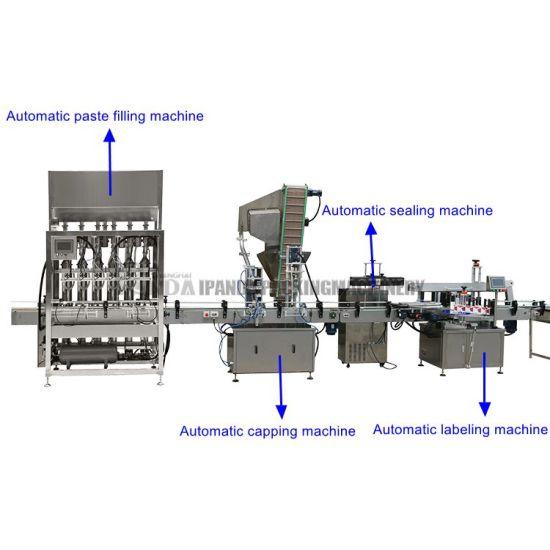 Automatic Coconut Milk Filling Machinery, Coconut Milk Honey Oil Tomato Sauce Paste Liquid Filling Machine/Line