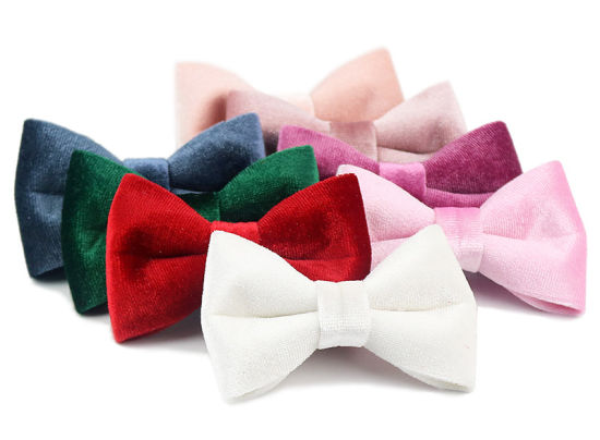 Fancy Ice Velvet Hair Bow Tie Girly Hair Accessories (RW20042801) pictures & photos