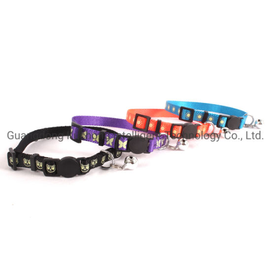 Fashionable Patterns and Easy Released Buckle Cat Collar
