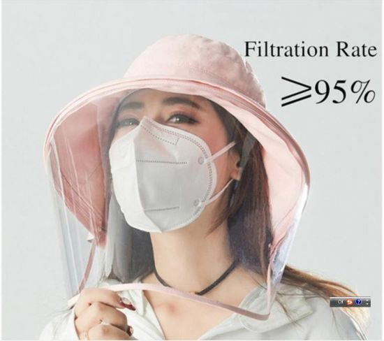 Wrapped Antibacterial Civil Supplier 4 Layers Meltblown Nonwoven Face Mask