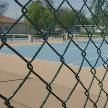 Wholesale Galvanized or PVC Coated Used Chain Link Fence