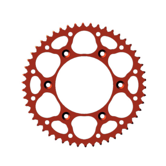 CNC Machining Motorcycle Colour Chain and Sprockets