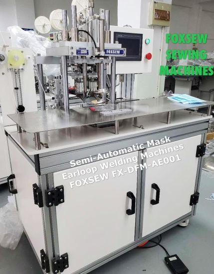 Semi Automatic Face Mask Earloop Welding Machine