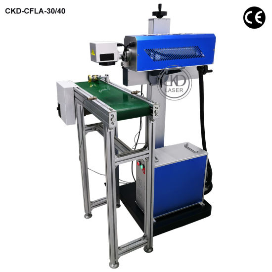 Fly Online Numbering Machine for PE Plastic Wood Paper Packing