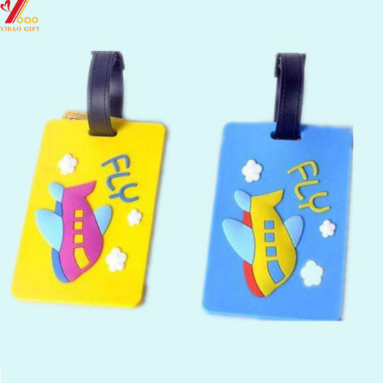 Colorful Cute Trave Luggage Tag Jewelry Customed Logo (YB-HR-69) pictures & photos