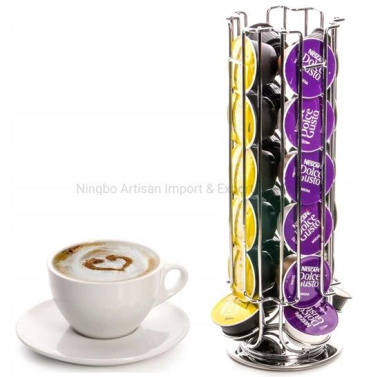 Rotatable Capsule Coffee Holder Rack