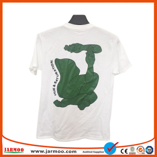 7490a9385 China OEM Service Design Your Own Organic Cotton White T Shirt ...
