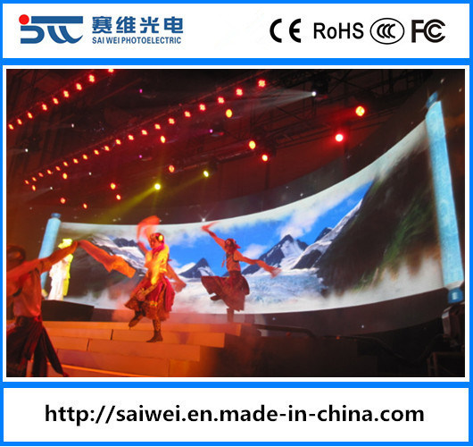 Indoor/Outdoor P3.91/P4.81/P5.95 Advertising LED TV Billboard Display Screen for Full Color Panel Stage Background Rental Video Wall Modules HD Sign Board