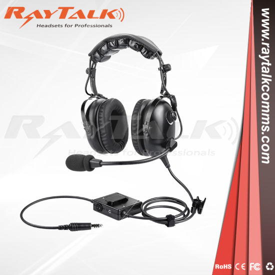 a4bdd4ca87e Helicopter Pilot Active Noise-Reduction Headset   Noise-Cancelling  Microphone pictures   photos