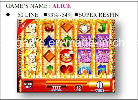 Alice-50 Line-Super Gambling Casino Game Machine Arcade Game Machine
