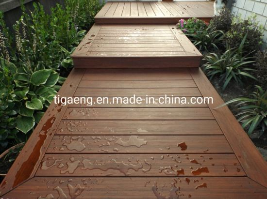 Outdoor Laminate Decorative Co-Extrusion WPC Decking Floorng