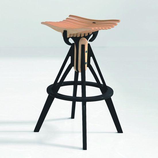 China Home Furniture Wood Kitchen Bar Chair Modern China