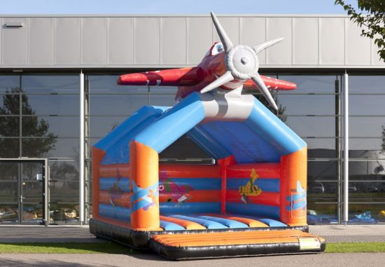 Giant Inflatable Airplane Shape Bouncer for Children