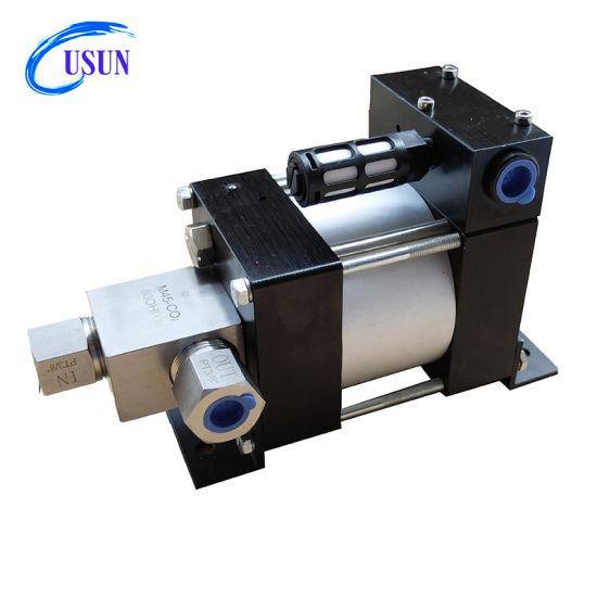 Hot Sale Model: M25-CO2 100-200 Bar High Pressure Pneumatic Liquid CO2 Booster Pump for Filling CO2 Tank