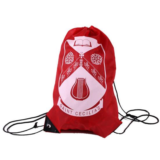 Kids Drawstring Packing Bag Travel Drawstring Backpack Cheaper Sport Bag