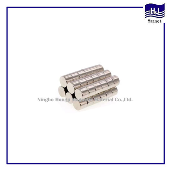 Strong Power Wafer Neodymium Magnet Rare Earth Product with Customized Coating