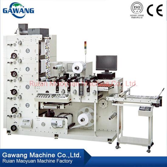 New Standard Label Printing Machine Roll Sticker Die Cutting Paper Printing Machine with UV/IR