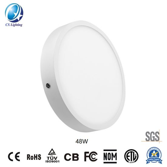 LED Lamp LED Round Surface Panellight 48W 3360lm 600mm 6500K Ce RoHS pictures & photos