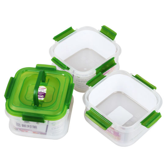3 Compartment Airtight Food Grade Storage Container with Lid  sc 1 st  Suzhou New Way Plastic Industry Co. Ltd. & China 3 Compartment Airtight Food Grade Storage Container with Lid ...