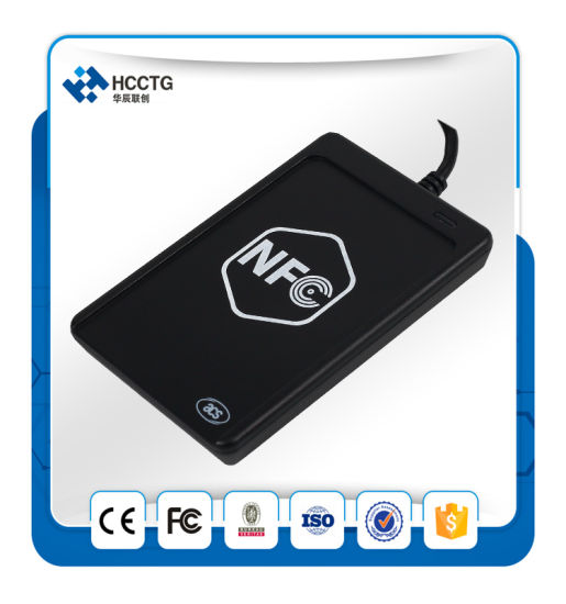 13.56MHz Supports ISO 14443 RFID Mini NFC USB Card Reader /Writer ACR1251 pictures & photos