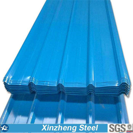 PPGI Color Coated Galvanized Corrugated Roofing Sheet pictures & photos