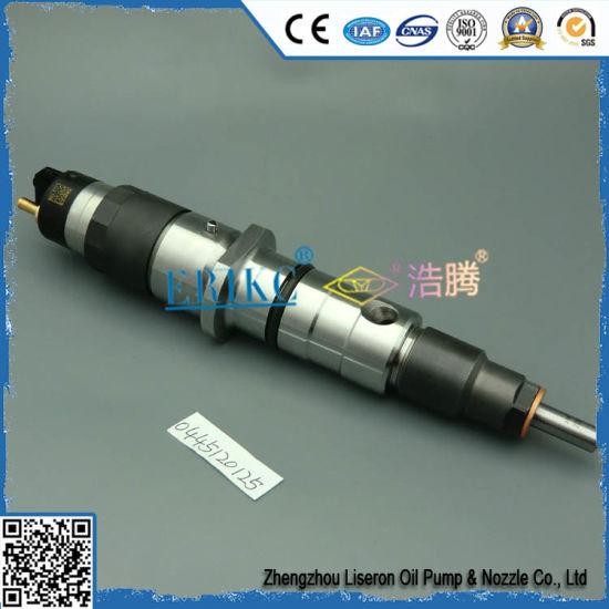 Erikc 0445120125 Bosch Fuel Tank Injector 0 445 120 125 (0986435560)  Injection Pump Injector 0986435560 0986435554 for Komatsu Cummins 350-8  300-8