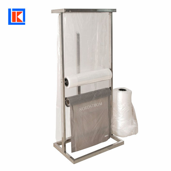 Factory OEM High Quality Clean Plastic Garment Bag with Roll