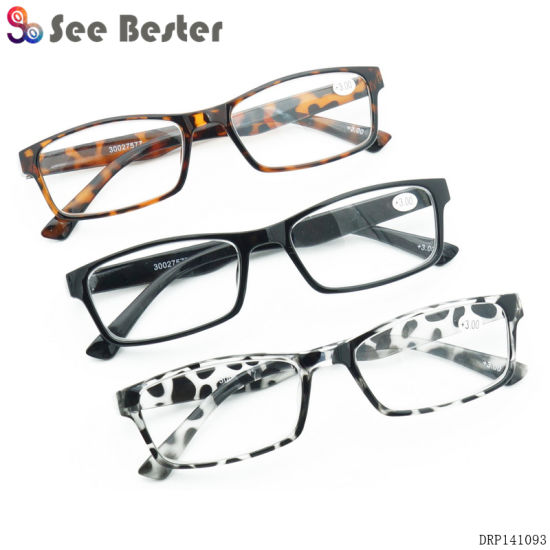 13105de15215 China Pharmacy Super Market Promotion Cheap Plastic Reading Glasses ...