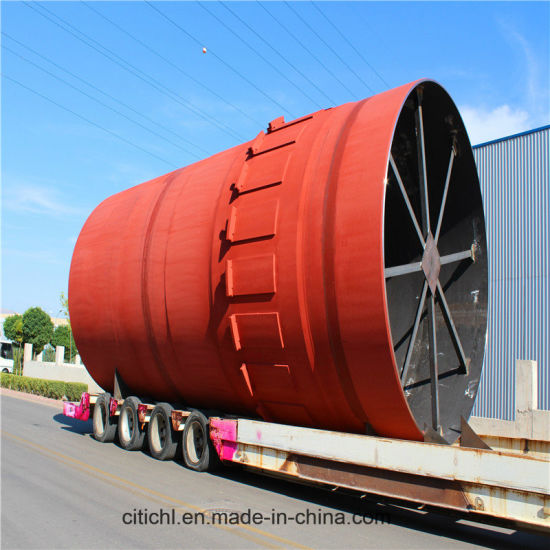 Zinc Oxide and White Clay Calcination Rotary Kiln Equipment pictures & photos