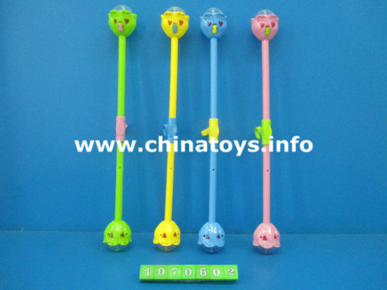 Novely Plastic Toy Flash Stick, Game Toys (1070601) pictures & photos