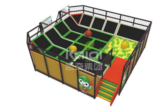 Kaiqi Customized Trampolines Play (KQ60153A-D) pictures & photos