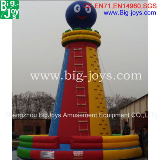 9.8mh Ginflatable Climb Wall Sport Ame for Sale