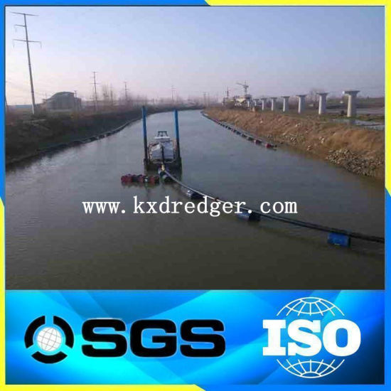 Kaixiang Professional Hydraulic River Sand Dredger Cutter Suction Dredger for Sale--CSD200 pictures & photos