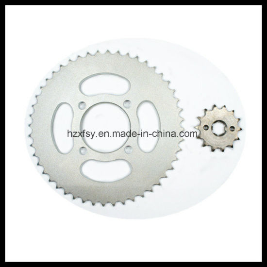 Motorcycle Parts of Sprocket Sets pictures & photos