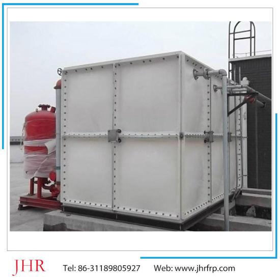 China SMC GRP FRP Fiberglass Water Tank Manufacturing Plant