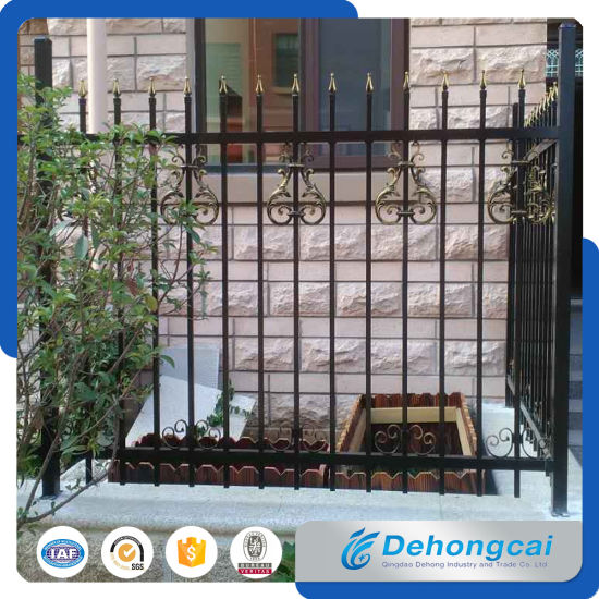 Used Wrought Iron Fencing for Sale / Wrought Iron Garden Fence pictures & photos