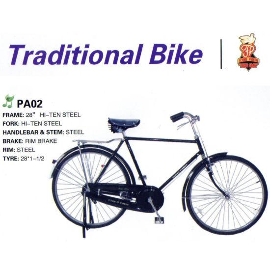"Competitive Price 28"" Man Female Traditional Bike (FP-TRDB-061)"