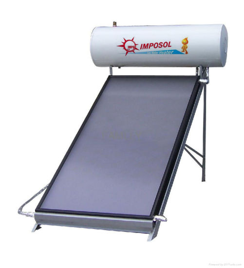 OEM Greenhouse Flat Plate Solar Energy Water Heater for Home