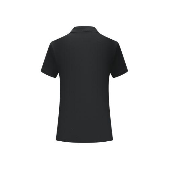 Short Sleeve Fashion Custom Cotton Women Polo T-Shirt